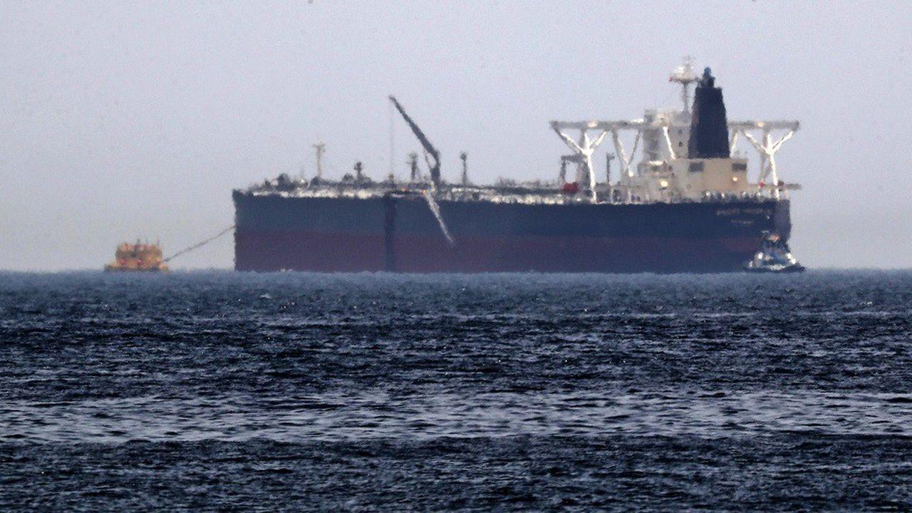 Les actes de sabotages présumés contre deux pétroliers, dont ici l'Amjad, n'ont pas fait de victimes et n'ont pas provoqué de marée noire, ont précisé les autorités saoudiennes.