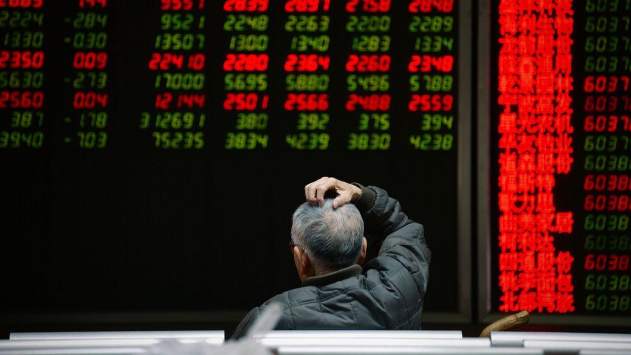 L'inquiétude régnait côté investisseurs à la Bourse de Shanghai, ce mardi