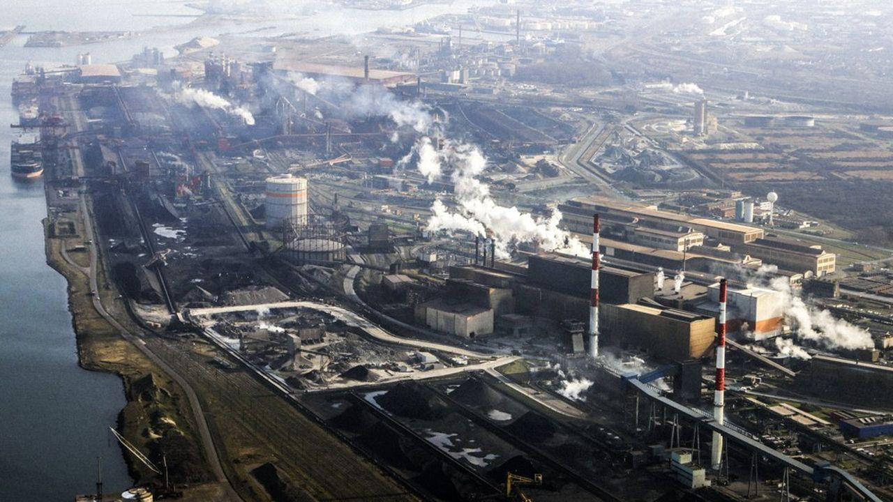 La sidérurgie est l'une des industries les plus émettrices de CO2 au monde.