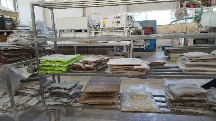 Le fabricant de semelles Bolflex maîtrise parfaitement le recyclage du caoutchouc et n'importe plus que 30% de matière vierge du Brésil.