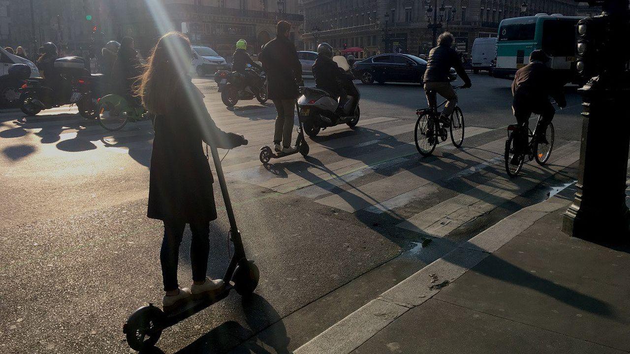 Les nouveaux modes de transports urbains sont à l'origine de nouveaux accidents de la route.
