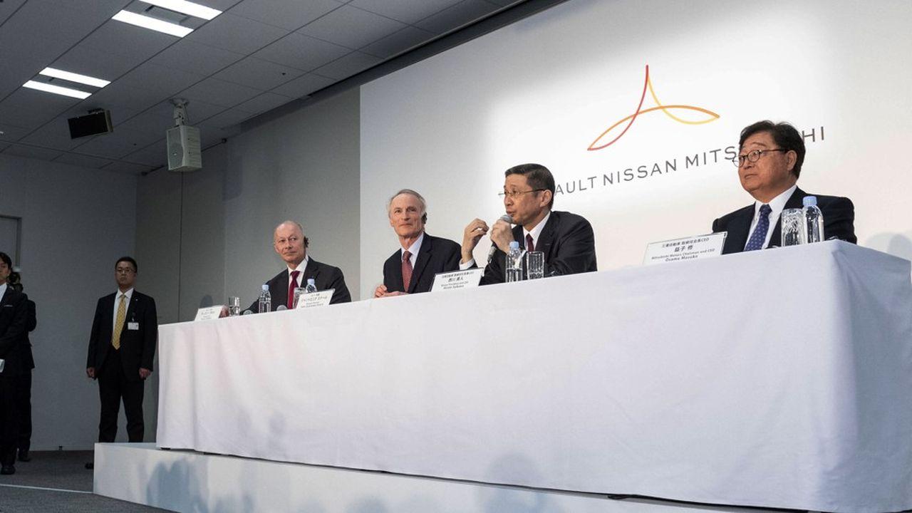 Les mauvais résultats de Nissan pourraient peser sur l'ambiance au sein de l'Alliance Renault-Nissan-Mitsubishi.