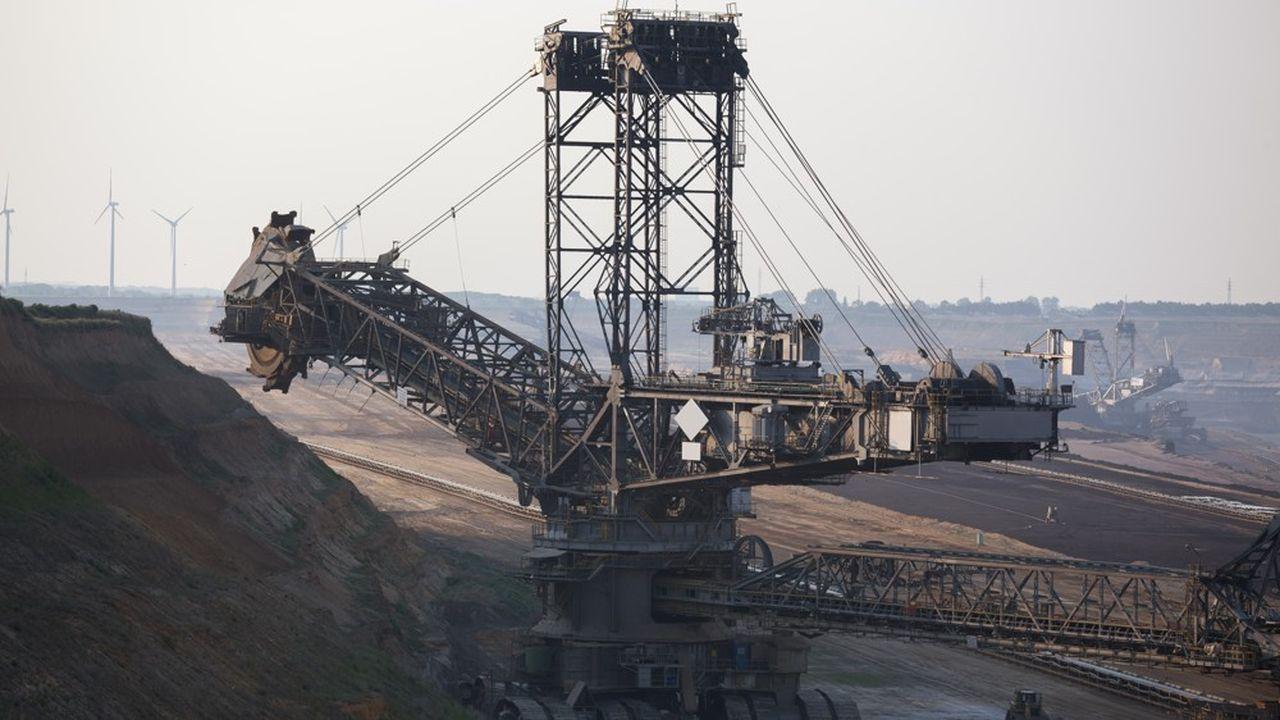 Nombre de matières premières sont aujourd'hui «assez largement excédentaires», à l'instar des céréales, du sucre, du café, du cobalt, du charbon (photo) ou du gaz naturel.