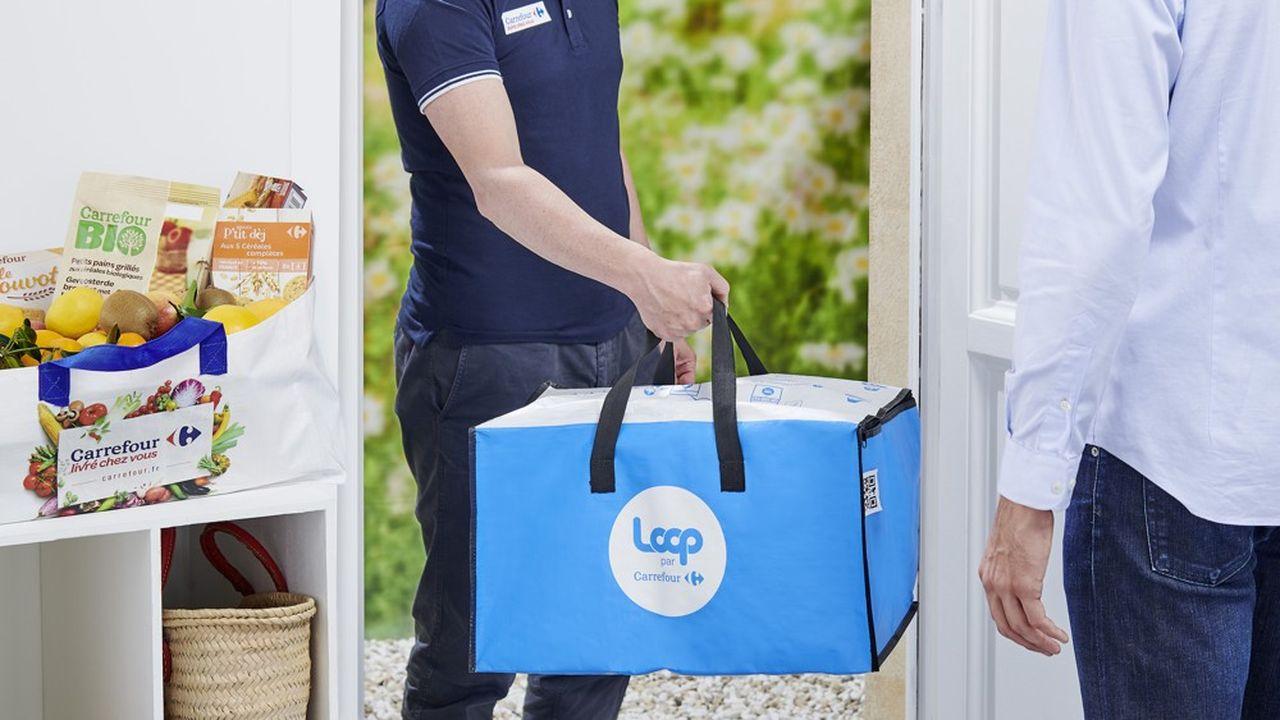 E-commerce : Loop teste l'emballage consigné collecté à domicile