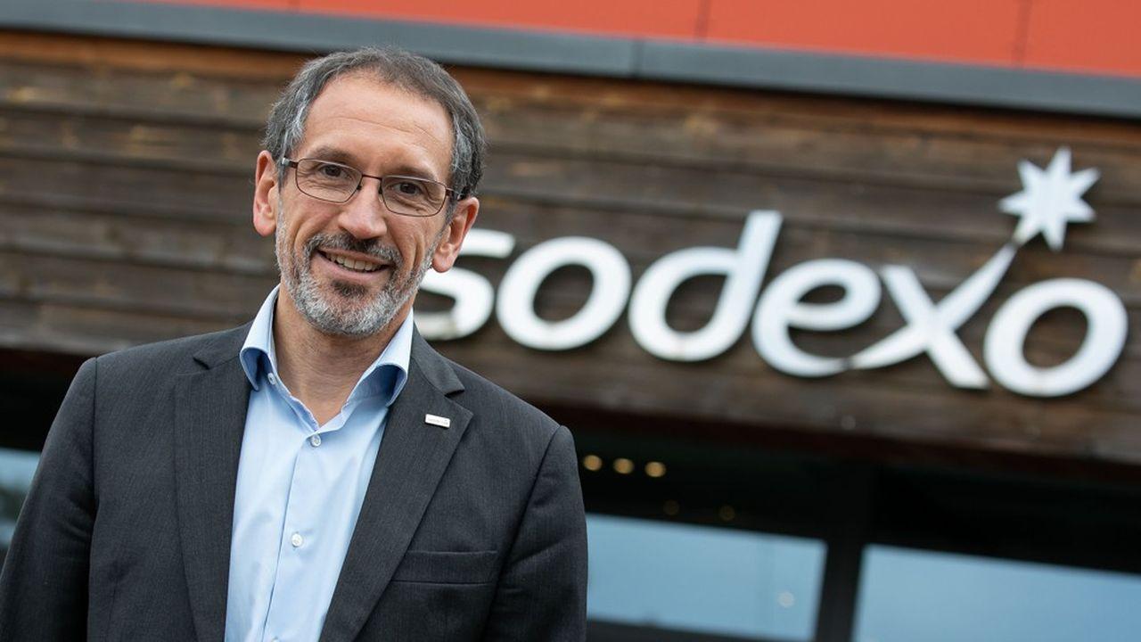 Denis Machuel, le patron de Sodexo, a fait de la lutte contre le gaspillage alimentaire une de ses priorités. Il présentera le programme WasteWatch ce jeudi à Vivatech.