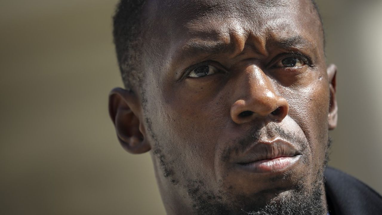 Usain Bolt est à Paris ce mercredi pour faire la promotion de la start-up de trottinettes électriques Bolt Mobility.