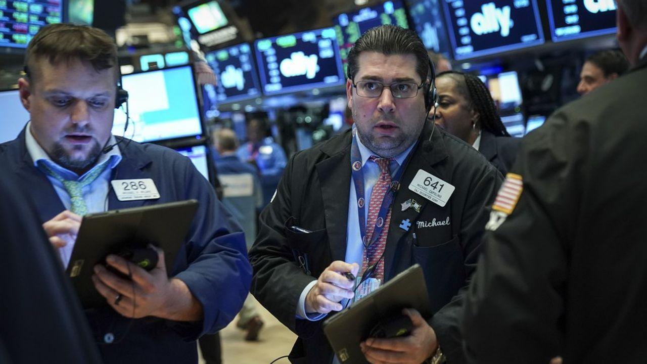Le « floor » du New York Stock Exchange (NYSE)