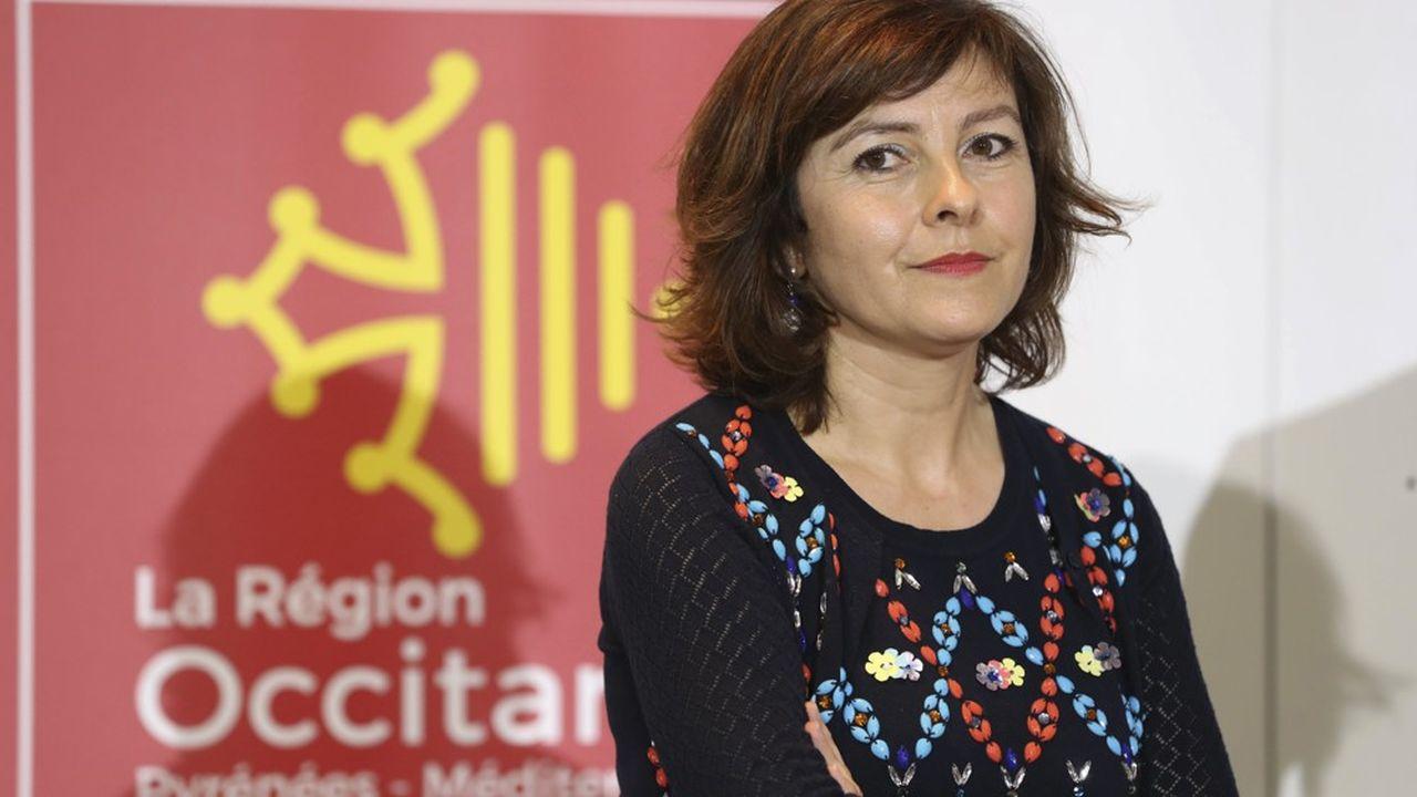 Carole Delga, présidente (PS) de la région Occitanie, a mis en cause la direction du groupe public.