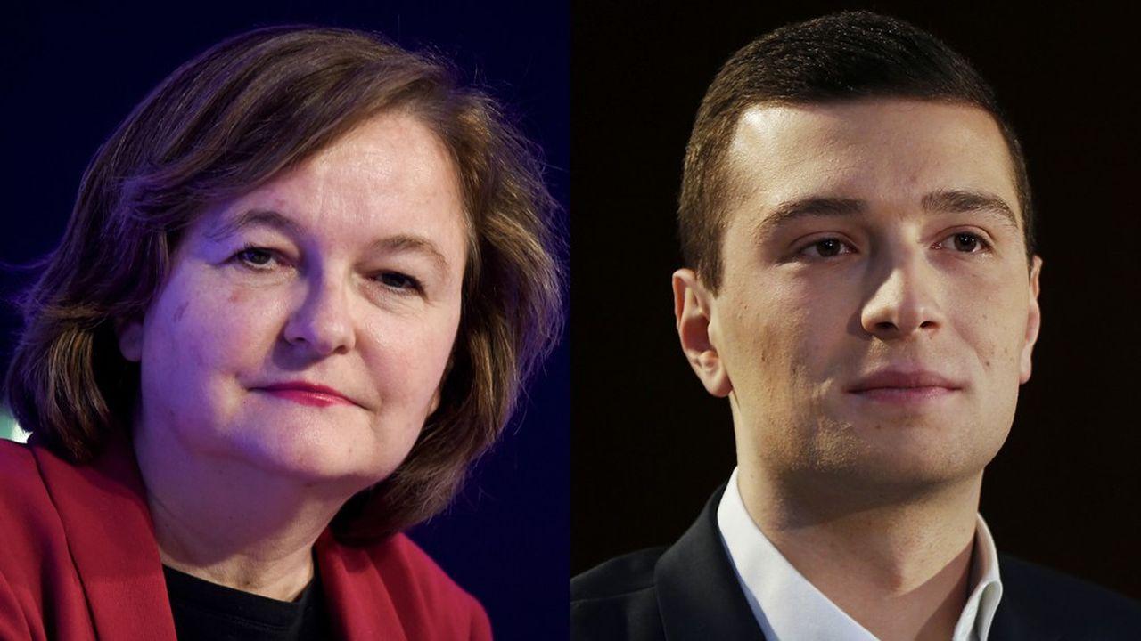 Nathalie Loiseau, la tête de liste La République en marche, et Jordan Bardella, premier de la liste du Rassemblement national pour ces élections européennes, se sont affrontés dans un débat d'une heure mercredi soir.