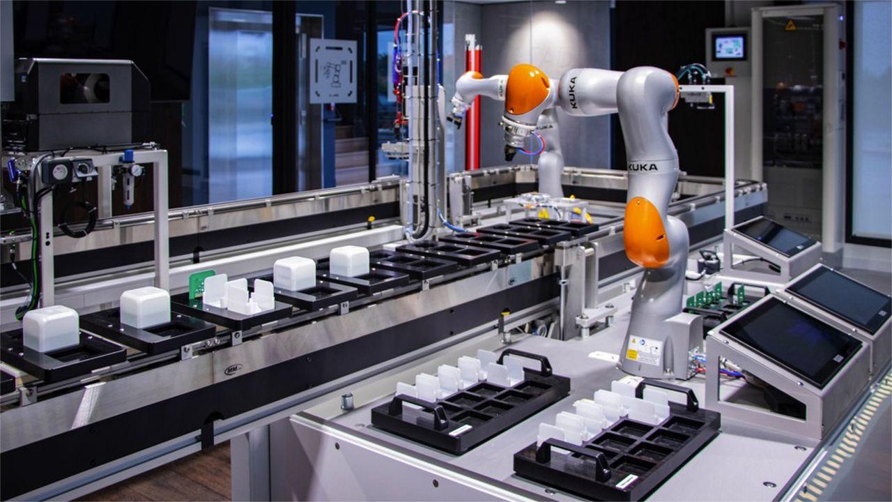 Le Connex'Lab est un concentré de technologies de l'industrie 4.0: IoT (Internet des objets), cloud, fabrication additive, réalité augmentée, intelligence artificielle...