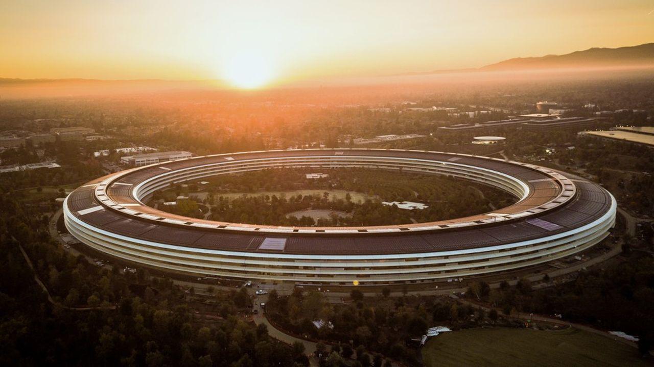 Siège d'Apple, à Cupertino dans la Silicon Valley.