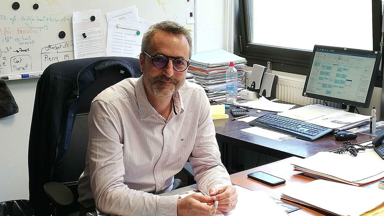 Christophe Hamel, président de l'Association des directeurs de halles à marée.