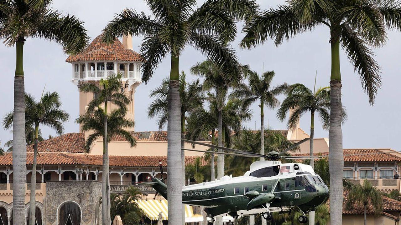 Mar-a-Lago, en Floride, où le président américain passe la plupart de son temps libre, a vu son chiffre d'affaires chuter de près de 10% en 2018.