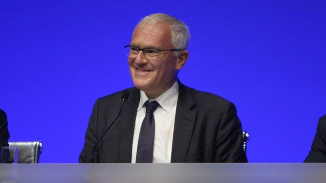 Jean-Bernard Lévy a obtenu un vote favorable des actionnaires (à 97,94%) pour entamer un second mandat de quatre ans à la tête d'EDF lors de l'assemblée générale, jeudi.