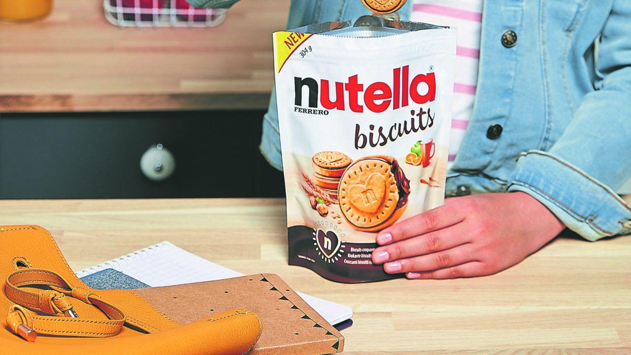 Le biscuit Nutella a demandé cinq années de recherche et développement à l'italien Ferrero.