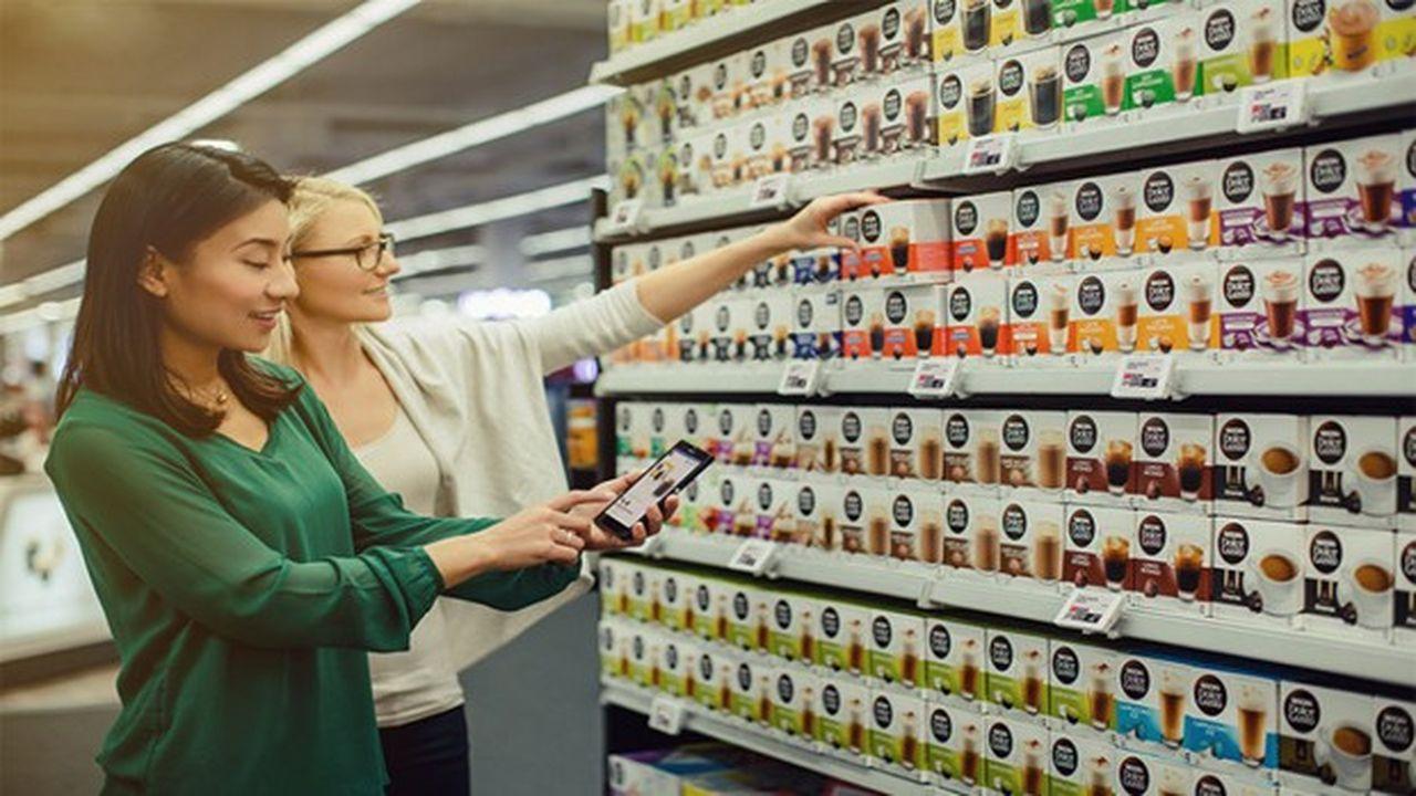 SES-imagotag est le spécialiste mondial des étiquettes électroniques