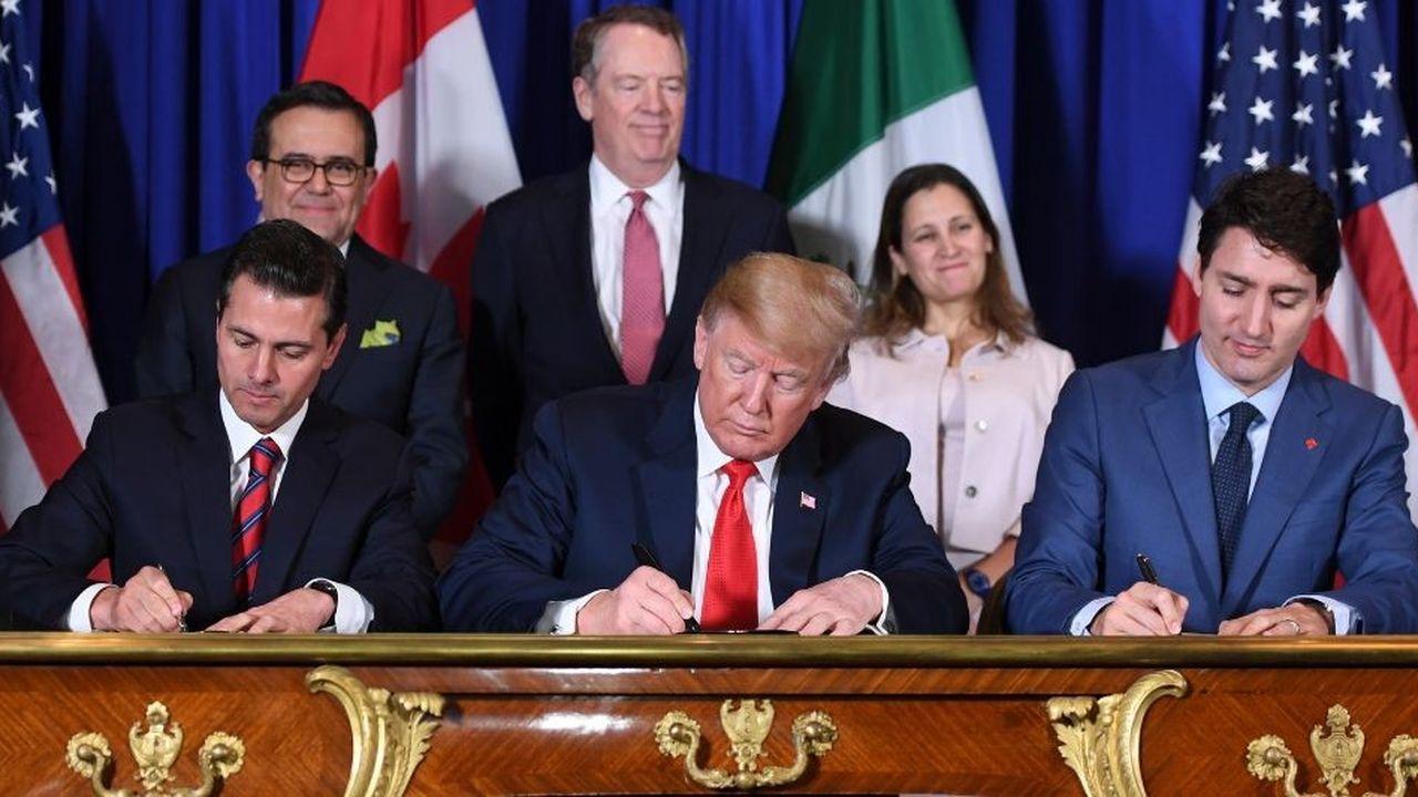 Taxes douanières: Trump fait un geste envers le Canada