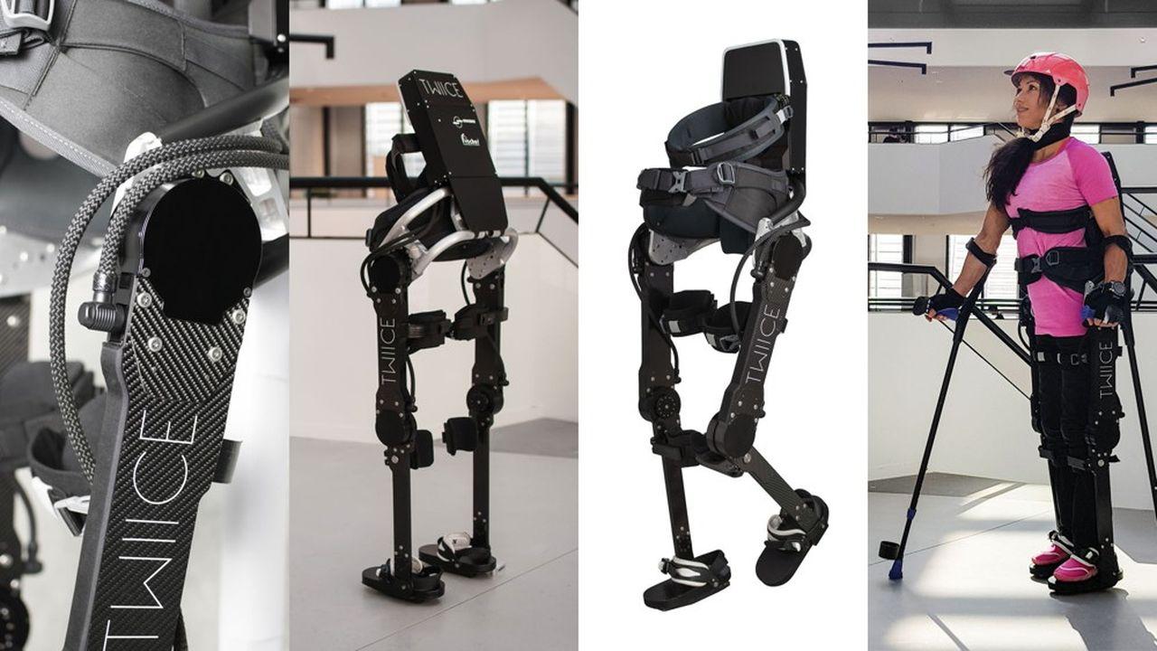 L'exosquelette Twiice a été testé tout le long de son développement par Silke Pan, athlète paraplégique.