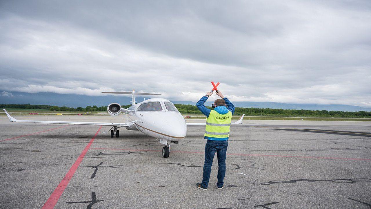 Le Salon EBACE de l'aviation d'affaires se tient jusqu'à vendredi à Genève.