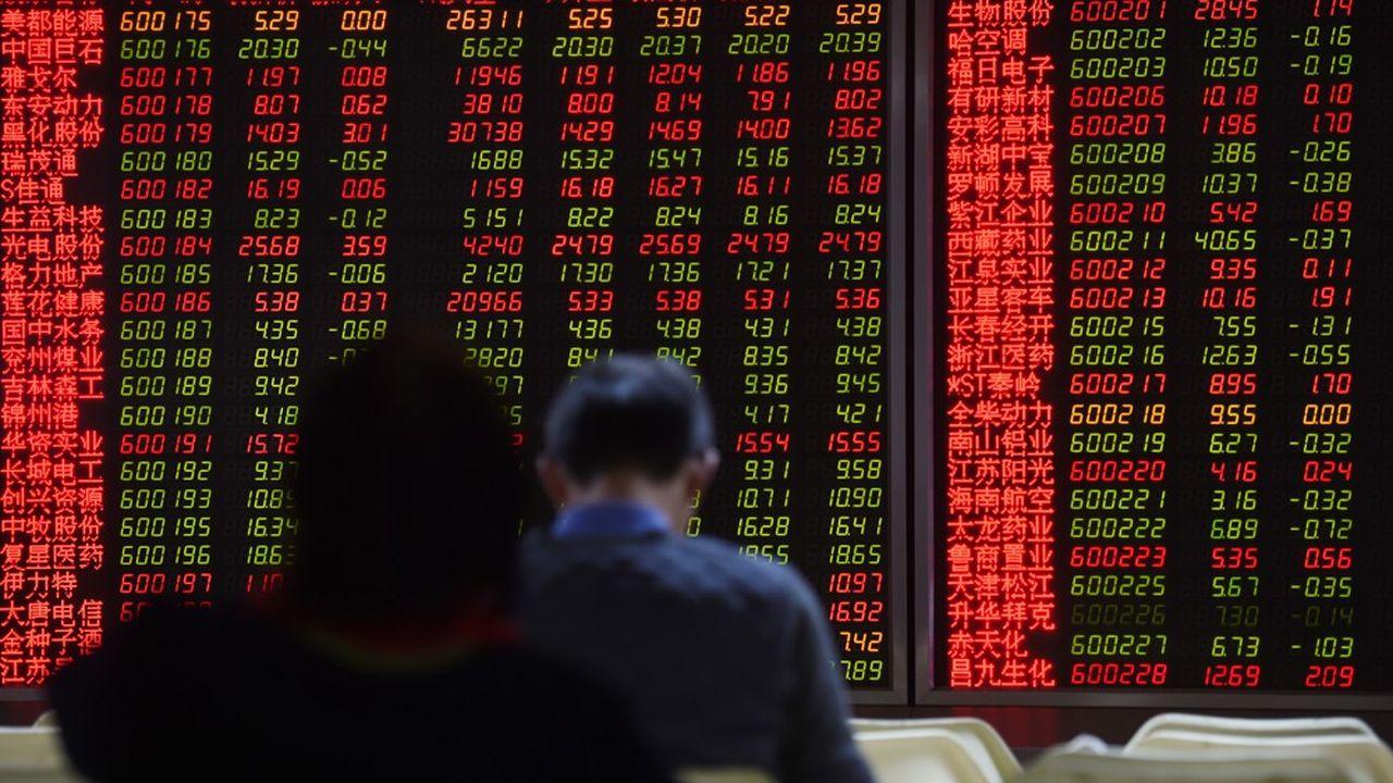 Les capitaux internationaux se détournent des actions chinoises