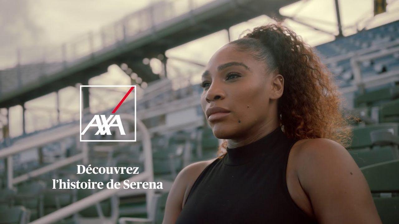 Serena Williams, nouvelle égérie d'AXA