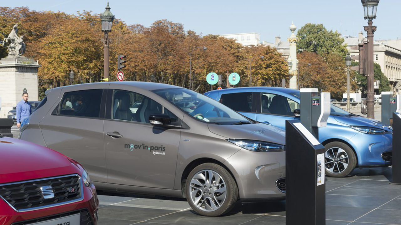 Avec Vulog, Renault veut accélérer dans l'autopartage