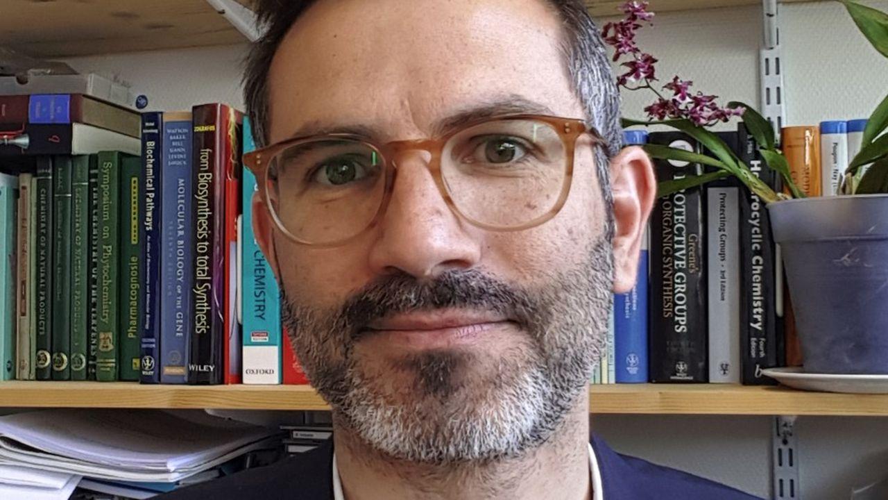 Bastien Nay, chercheur du CNRS au Laboratoire de synthèse organique de l'Ecole polytechnique.
