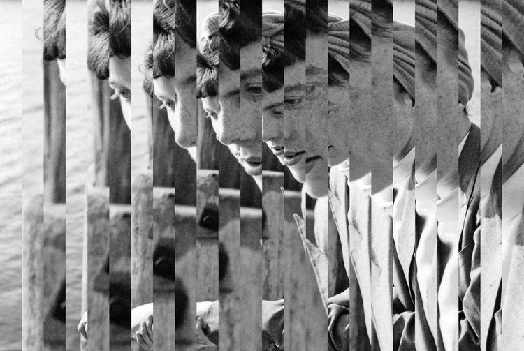 Nouvelle venue dans la section Discovery, la galerie Binome de Paris présentait un solo show du travail photographique d'Edouard Taufenbach. Ernestine, série SPECULAIRE, 2018-19.