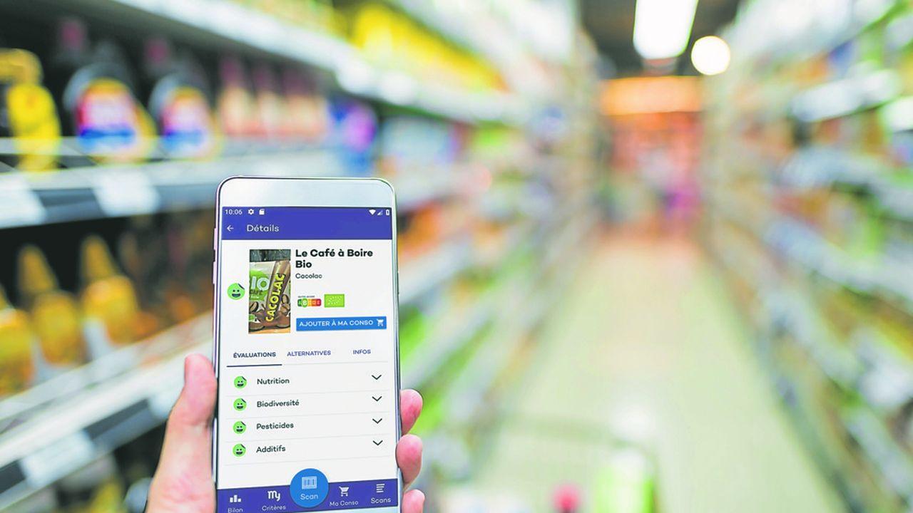 L'appli myLabel propose au consommateur de choisir entre une vingtaine de critères dans le domaine social, environnemental et sanitaire.