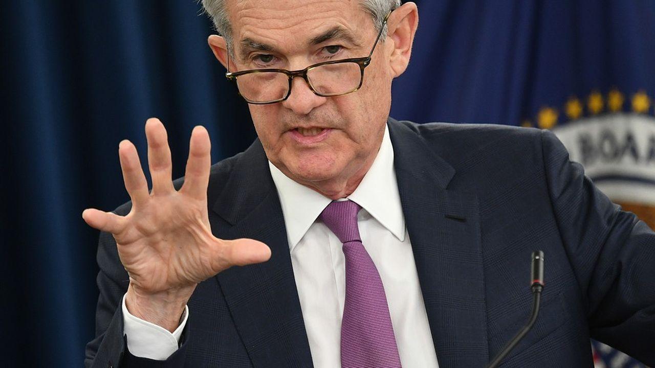 Dette d'entreprises : le patron de la Fed calme les inquiétudes