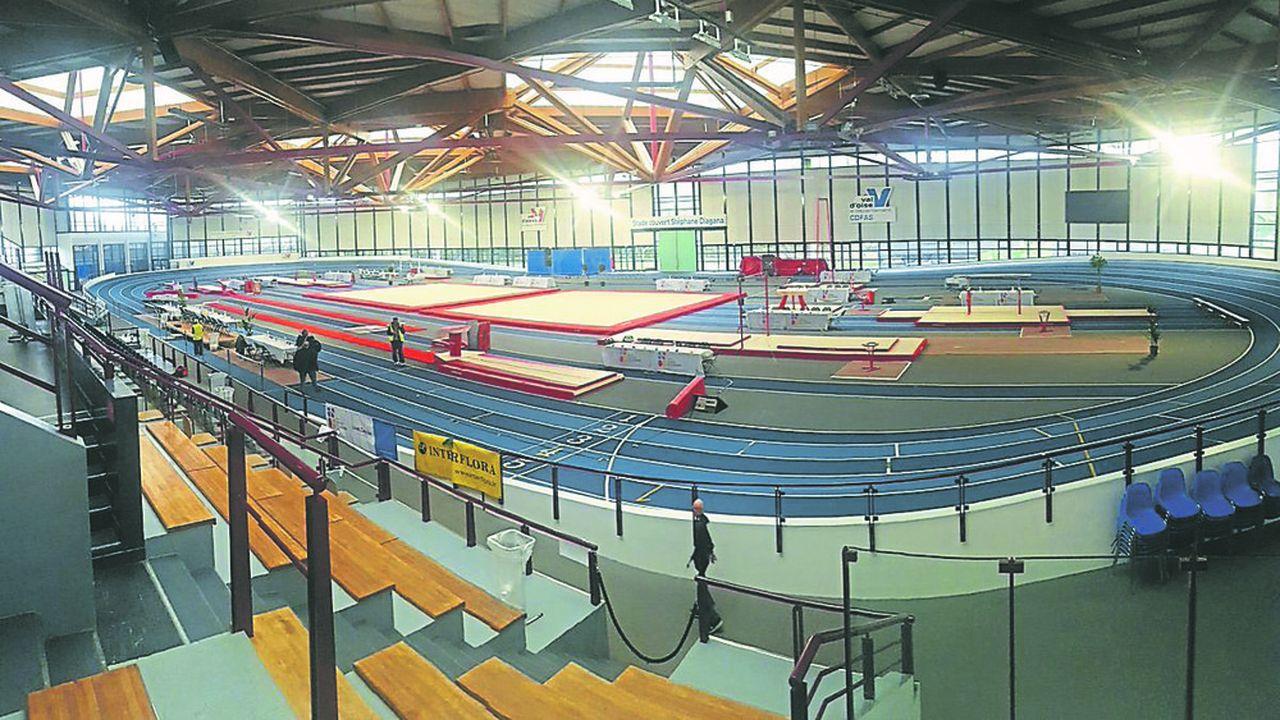 En octobre dernier, le département a investi 700.000 euros pour refaire une nouvelle piste d'athlétisme « indoor ».