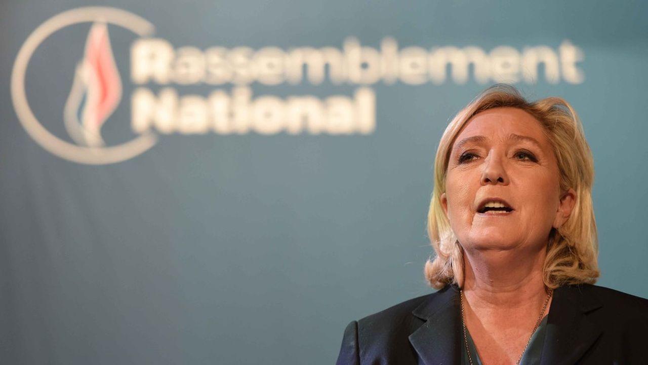 Le Rassemblement National dit avoir collecté 4,3millions d'euros sous forme d'emprunt auprès des particuliers pour financer sa campagne aux européennes.