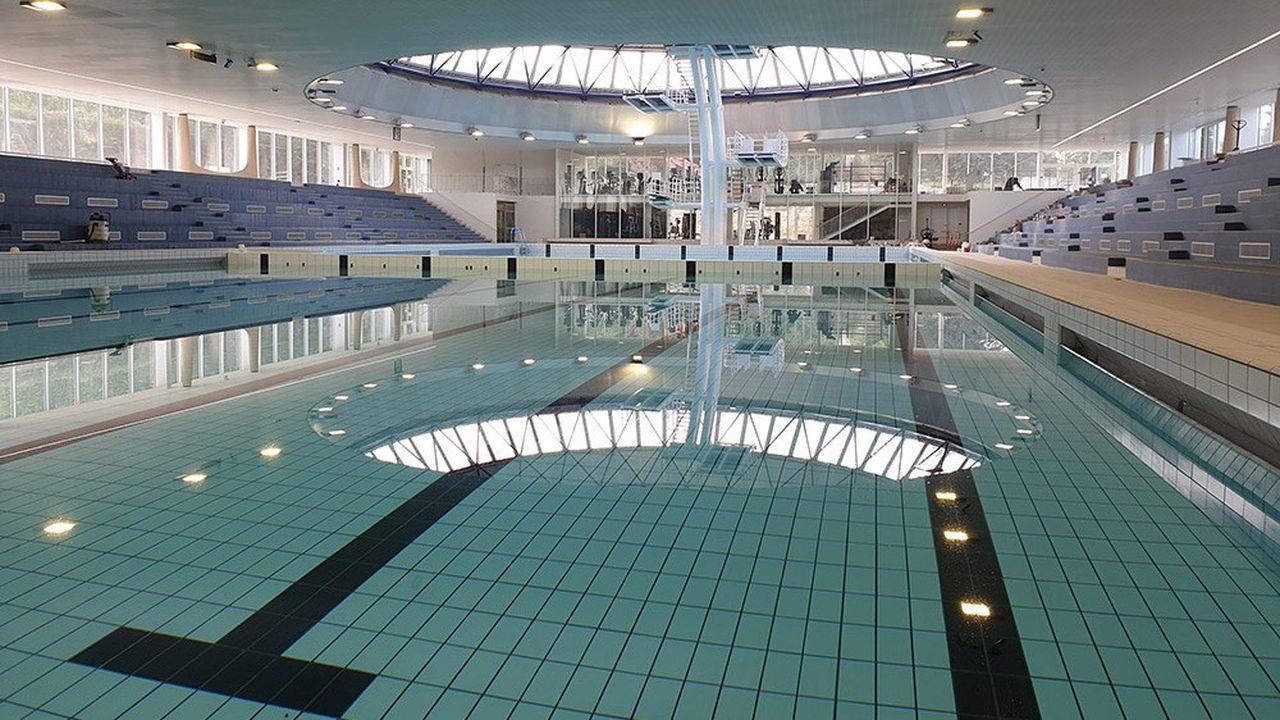 la piscine olympique intercommunale de Saint-Germain-en-Laye vient de rouvrir ses portes