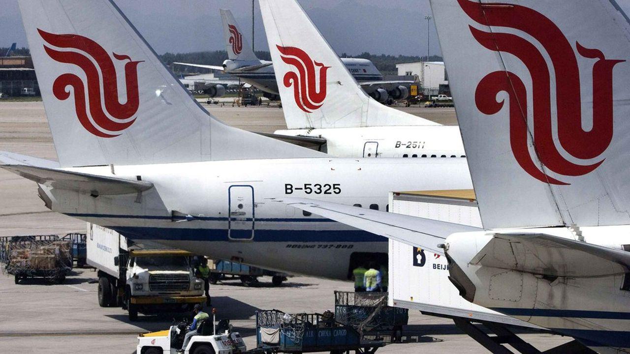 Air China a adressé à Boeing une demande d'indemnisation pour les pertes subies à cause de l'immobilisation du 737 MAX.