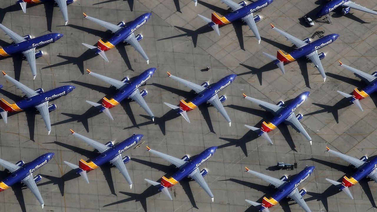 Sur les 290 compagnies membres de l'IATA, 28 opéraient des Boeing 737 MAX.