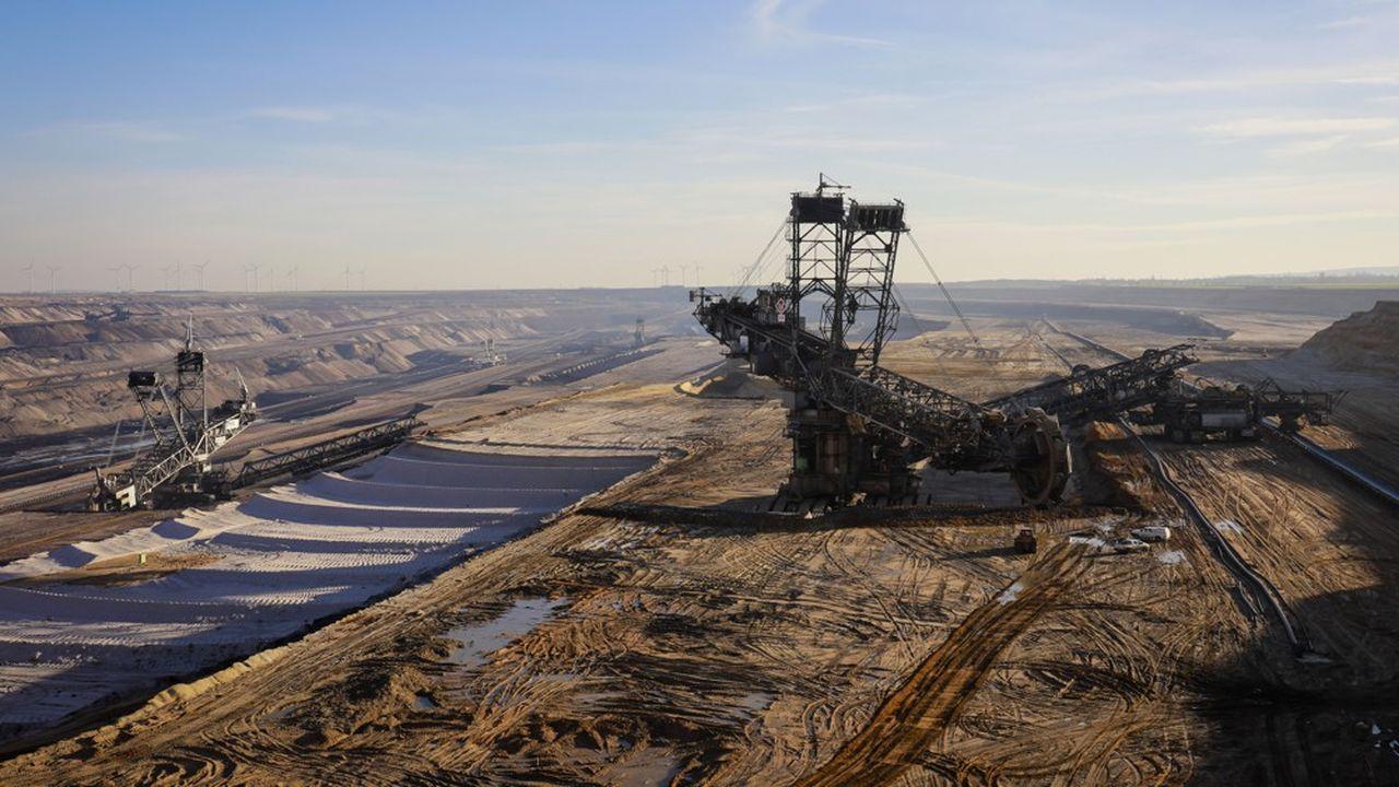 L'arrêt du recours au charbon extrait dans les mines allemandes pour produire de l'électricité est fixé en 2038.