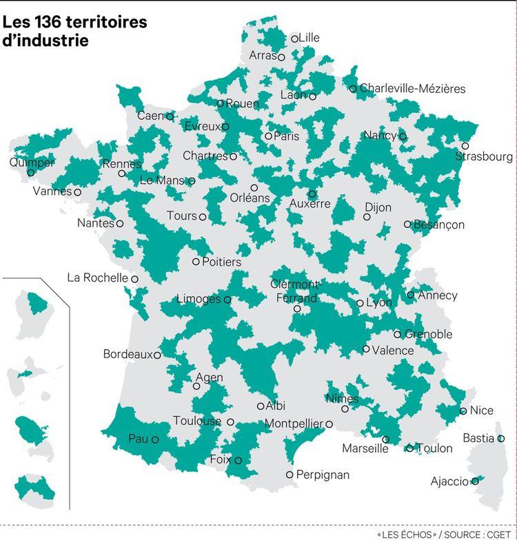 L'initiative Territoires d'industrie est piloté de manière décentralisée par les conseils régionaux les intercommunalités et les industriels concernés.