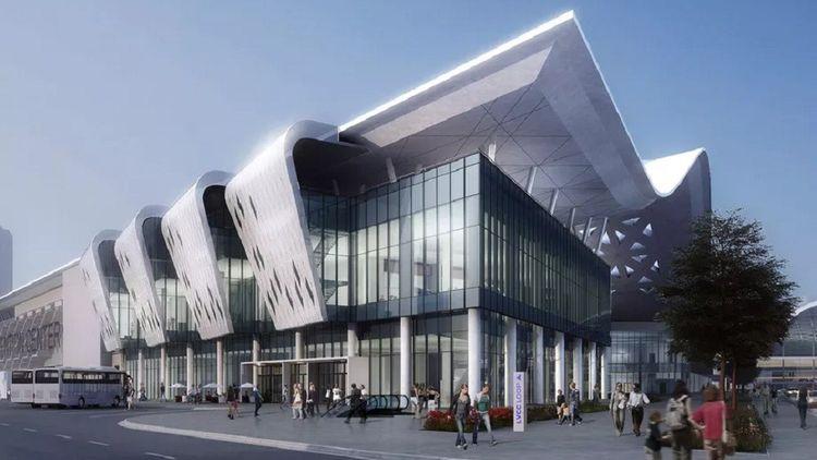 Un rendu conceptuel de l'expansion du Las Vegas Convention Center.