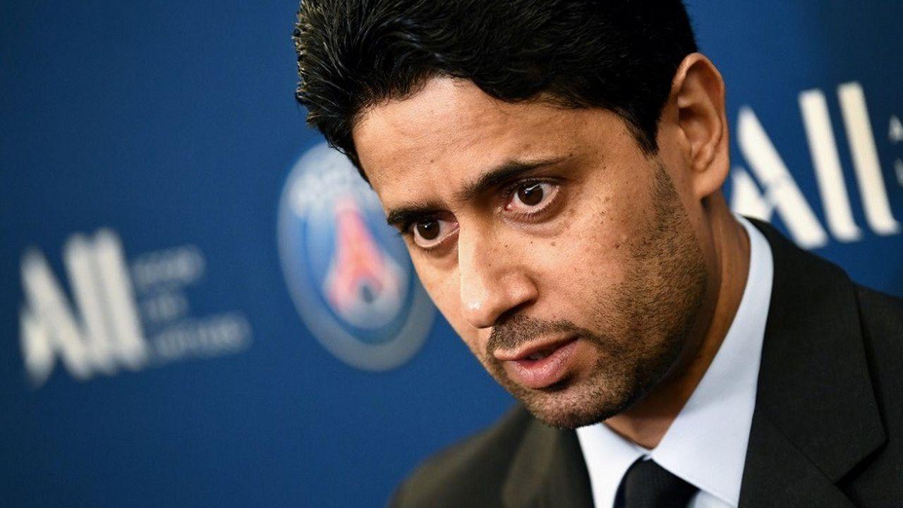 Nasser al-Khelaïfi avait été dans un premier temps placé sous le statut de témoin assisté.AFP  Franck Fife