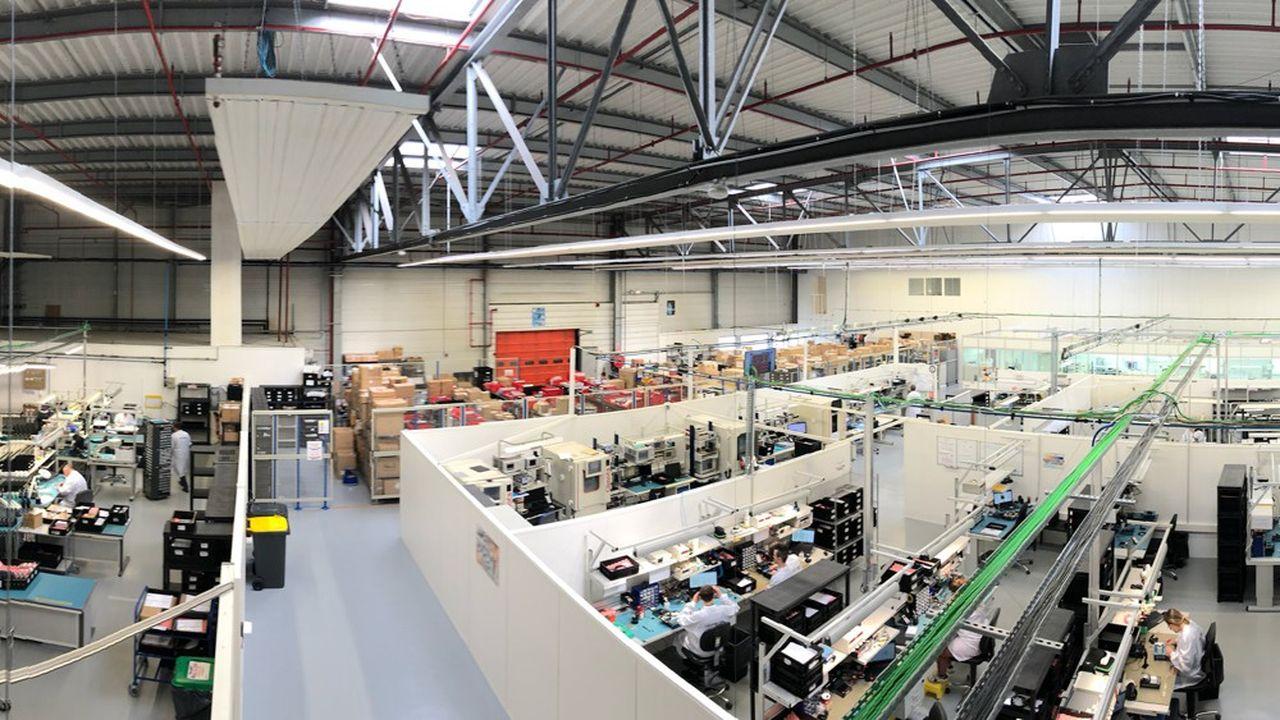 Lumibird a trois usines dans l'Hexagone, dont la plus importante est basée à Lannion.