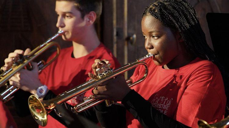 Orchestre à l'école, l'une des associations soutenues par Create Joy, se produira bientôt au Château de Fontainebleau