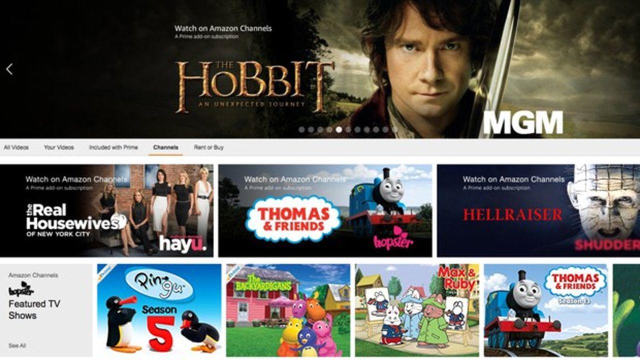 Amazon Prime va distribuer des chaînes payantes en France