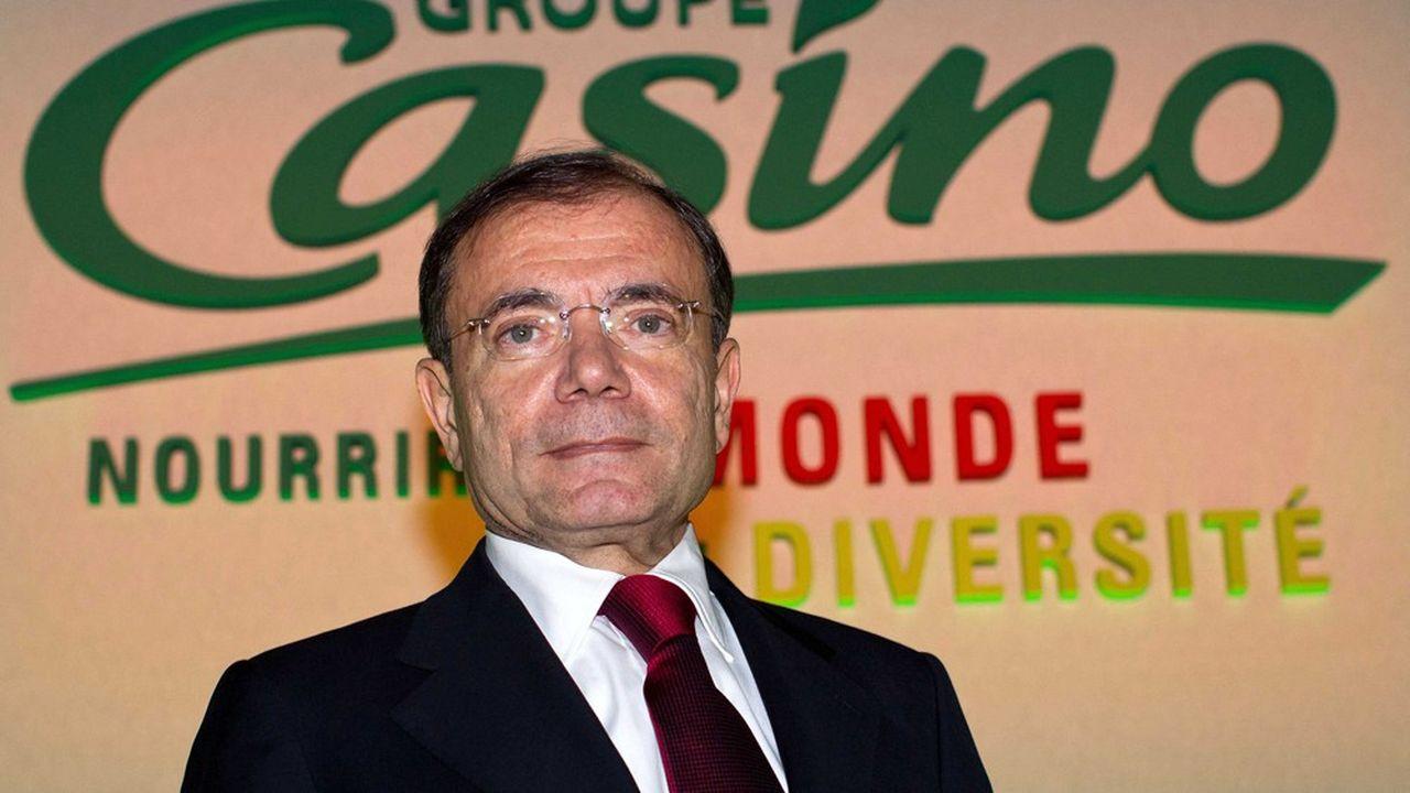 Jean-Charles Naouri, PDG de Casino et Rallye.