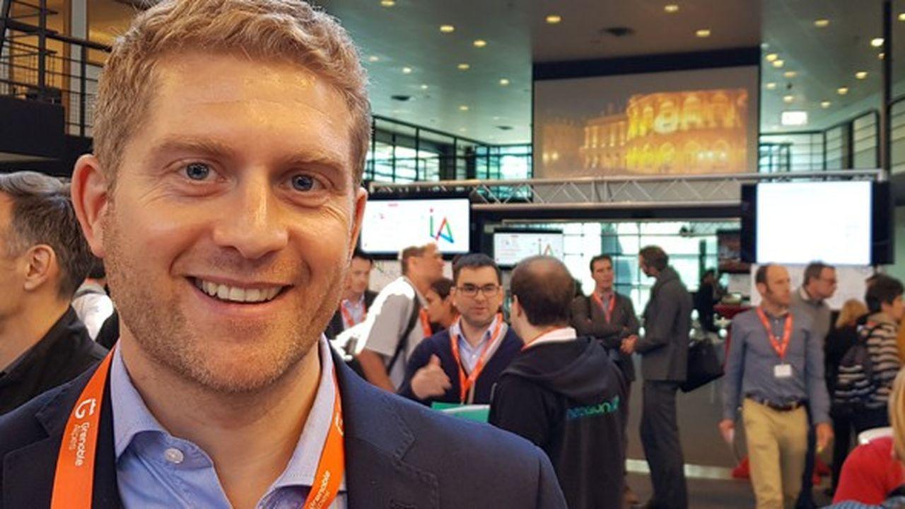 Cédric Favier, directeur de l'investissement chez Elaia, est lui-même diplômé de l'Institut polytechnique de Grenoble (INP).