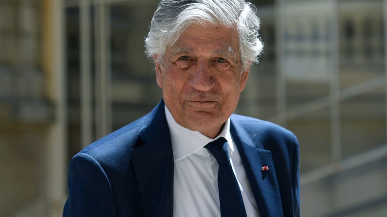 Maurice Lévy, président du conseil de surveillance de Publicis Groupe.