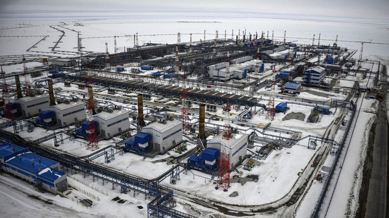 Pour acheminer davantage de gaz vers l'Allemagne puis au reste de l'Europe via Nord Stream 2, Gazprom exploitera son gisement polaire de Bovanenkovo, l'une des plus riches réserves au monde (4,9 trillions de mètres cubes).