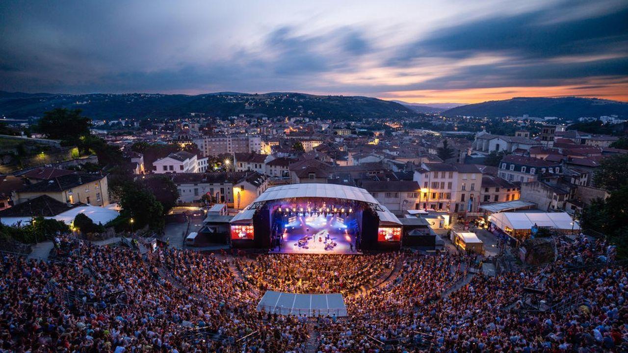 Jazz à Vienne possède l'une des plus grosses jauges des festivals de jazz.