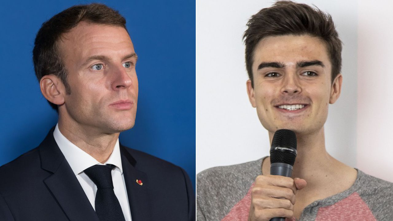 Pendant 45 minutes, Emmanuel Macron répondra aux questions d'Hugo Travers et de son public dans son émission « Hugo Décrypte ».