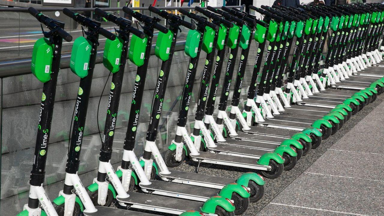 Chaque opérateur ne pourra pas exploiter plus de 600 vélos classiques, autant de vélos électriques, 200 scooters, et 100 trottinettes.