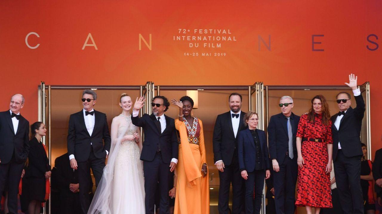 Robin Campillo, Enki Bilal, Maimouna N'Diaye, Kelly Reichardt, Alejandro Gonzalez Inarritu, Elle Fanning, Yorgos Lantimos Pawel Pawlikowski et Alice Rohrwacher constituaient le jury du 72e Festival de Cannes.